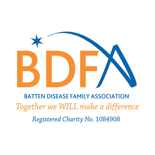BDFA Batten Disease Family Association. Together we WILL make a difference. Registered Charity No. 1084908.